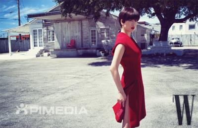 송혜교 파격변신, 팜므파탈 레드 선보여
