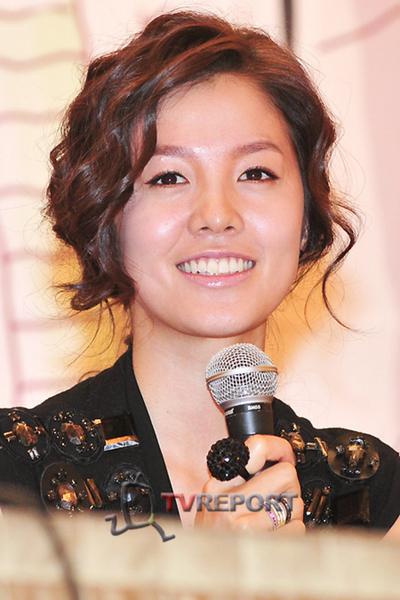 [T포토] '정조국의 연인' 김성은, 아름다워라~