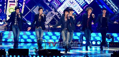 [T포토]'꽃남 그룹' SS501, 'Love like this'