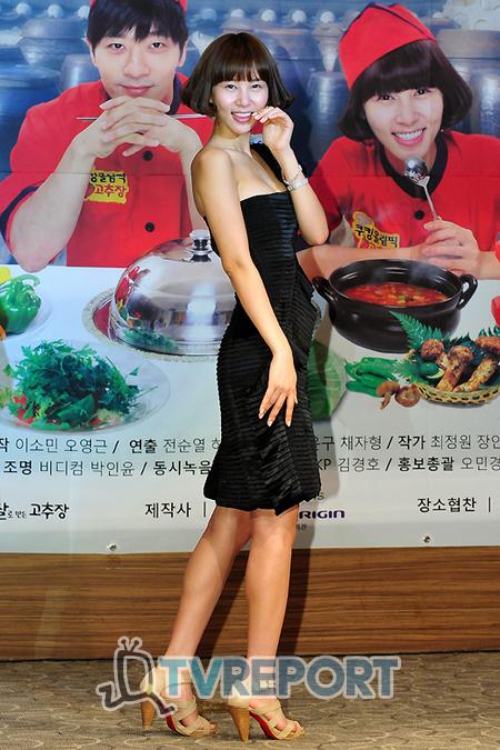[T포토] 김정민 '섹시하고 사랑스럽게~'