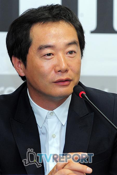 [T포토] '된장' 장진 감독 '동막골보다 더 잘될 것 같다!'