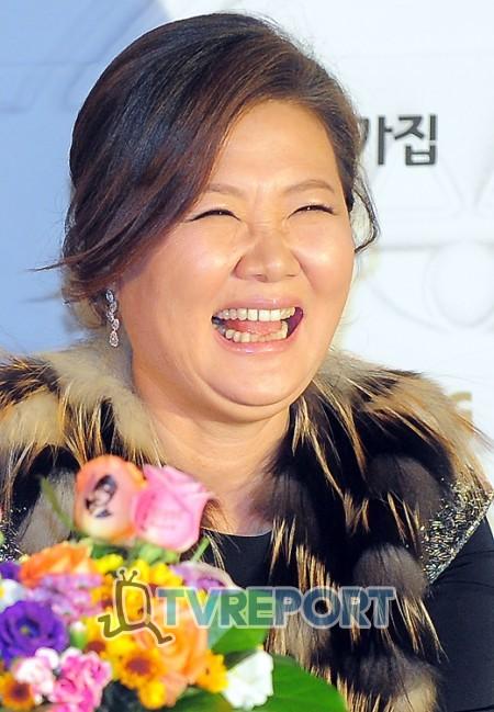 [T포토] 김해숙 '호탕한 웃음'