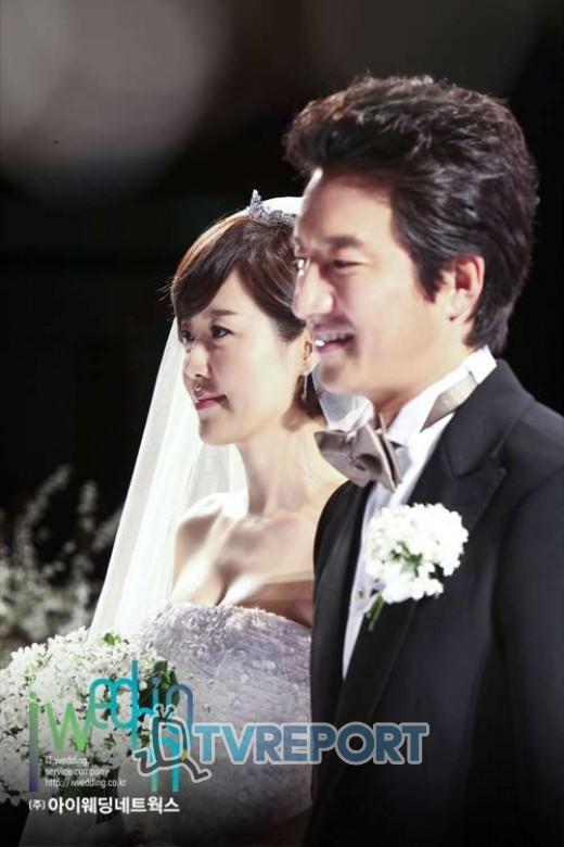 [T포토] '새신랑' 정준호, 결혼식에 싱글벙글