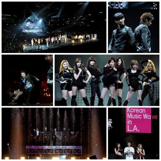 'MBC Korean Music Wave in LA', 퀄리티 높은 케이팝 공연의 진수