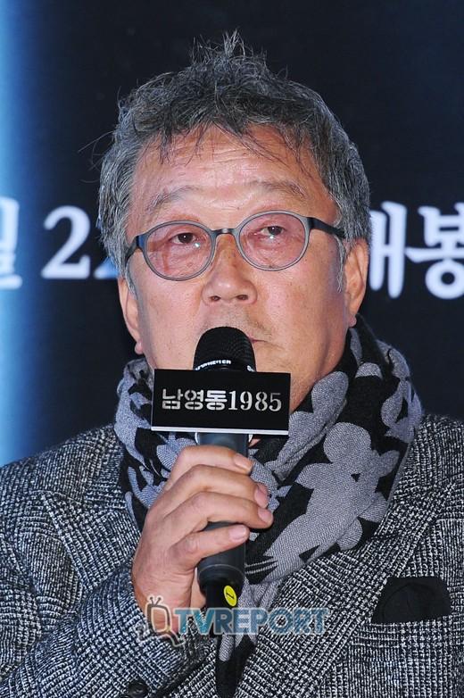 """'남영동1985' 명계남 """"어떤 신문만 생각하면 기쁜 표정 잘 나와"""""""