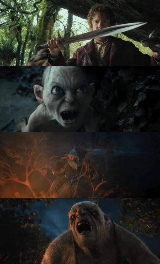'호빗', 최초 하이프레임기법 사용한 액션 어드벤처 영상 공개