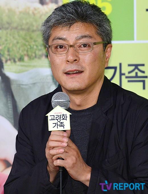 """'고령화가족' 송해성 감독 """"흥행실패 감독役 내 얘기 같았다"""""""