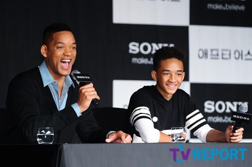 """윌·제이든 父子, '애프터 어스' 韓흥행 한다면?…""""YG와 음반 내겠다"""""""