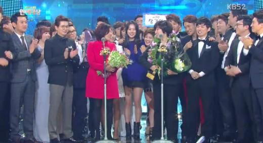 [KBS연예대상] '개그콘서트', 시청자 선정 올해의 최고 프로그램상