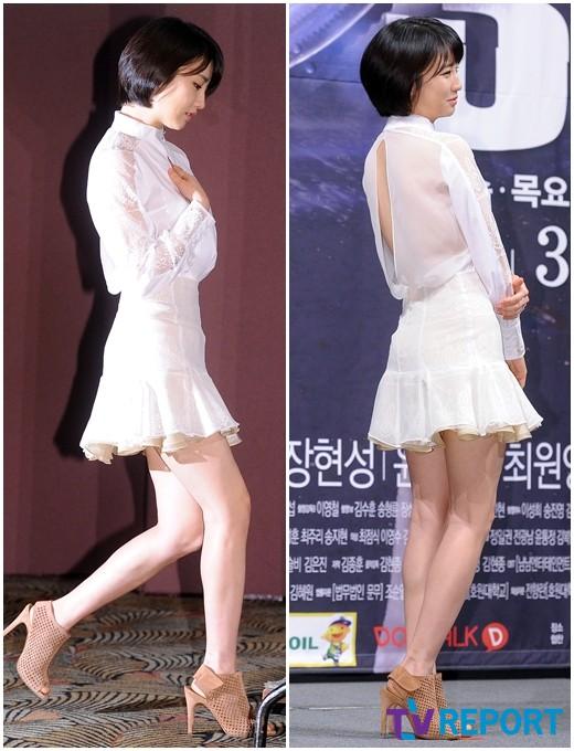 박하선, 아찔 시스루 의상…'청순+섹시' 매력 어필