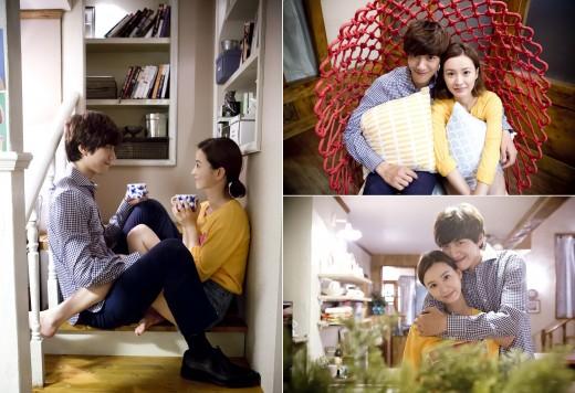 '포개 앉고, 포옹하고'…정유미-성준, 연애욕구 유발 작전