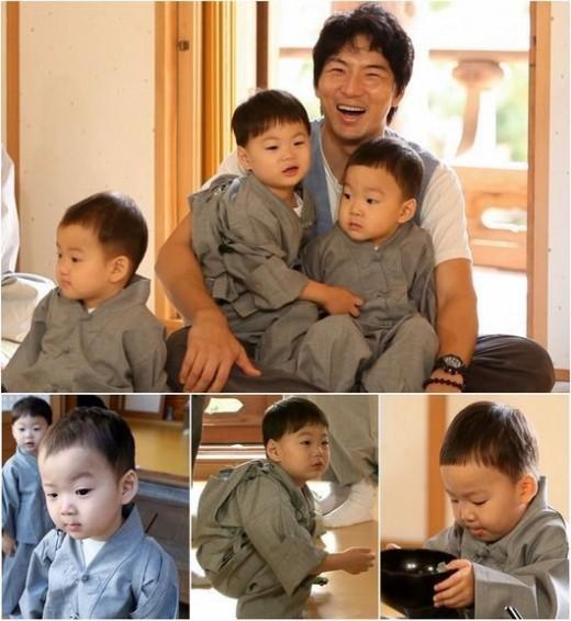 [단독] 굿바이 삼둥이…송일국, '슈퍼맨' 마지막 촬영 마쳐