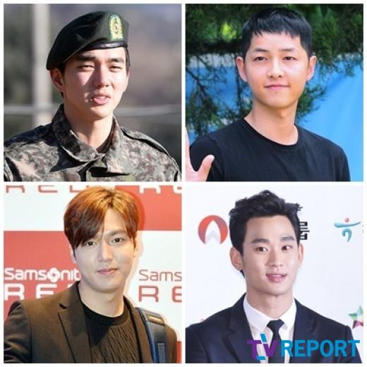 [군대특집②] 송중기·유승호 도약이냐, 김수현·이민호 굳히기냐