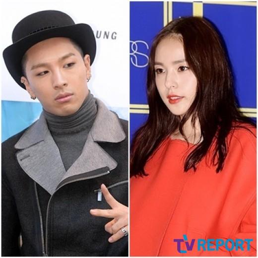 YG 측 태양♥민효린, 내년 2월 결혼…군입대 전 웨딩마치 | SBS 뉴스