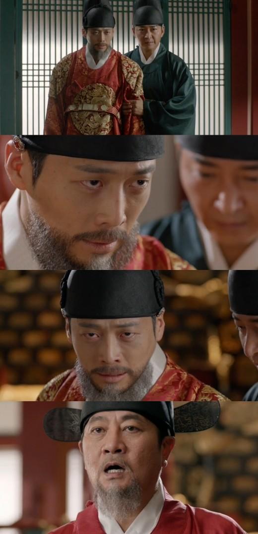 '화정' 김재원, 반역무리 밝히려 혼절한 척 연기 '소름'