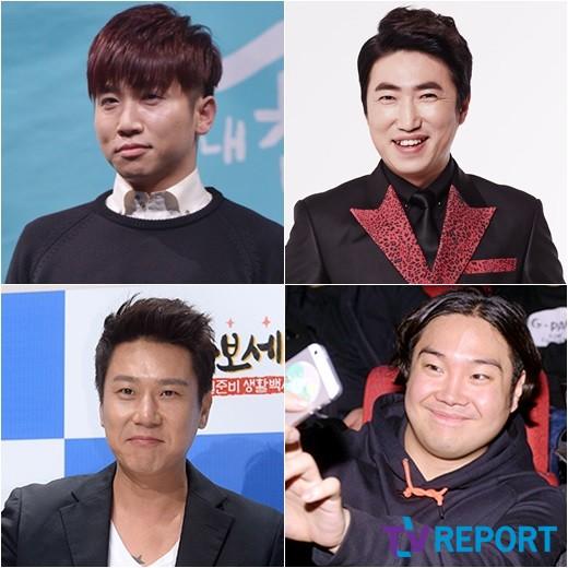 [단독] '예능대세' 유세윤·장동민·이상민·유재환 '방시팝' 고정확정