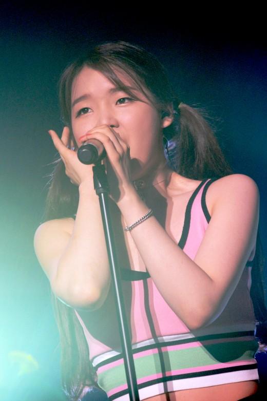 오마이걸 승희, 단독 콘서트 도중 갑자기 눈물