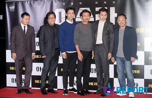 [T포토] 아수라 '한국판 느와르의 새 역사!'