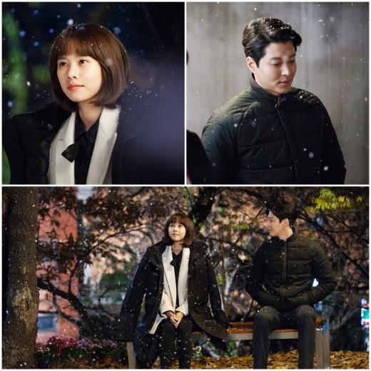 [TV@픽] '월계수' 이동건♥조윤희, 첫눈 데이트…사랑 이뤄질까