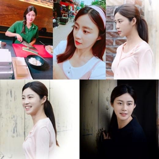 김아라, 웹드 '천둥아 진정해' 여주인공…홍경인과 호흡