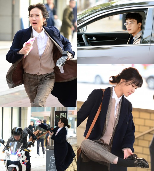 [TV@픽] 달리고 또 달린다…'청춘시대' 벗고 '이판사판' 뛰어든 박은빈