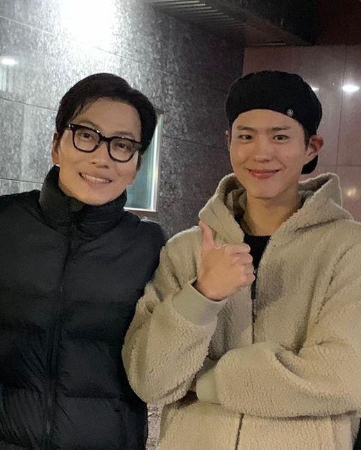 """이동휘X박보검, 훈훈 투샷 """"응팔 우정 영원히"""""""