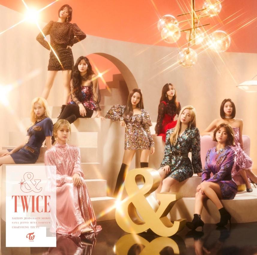 트와이스, 日 2집 앨범 '&TWICE' 오리콘 데일리 앨범 랭킹 1위