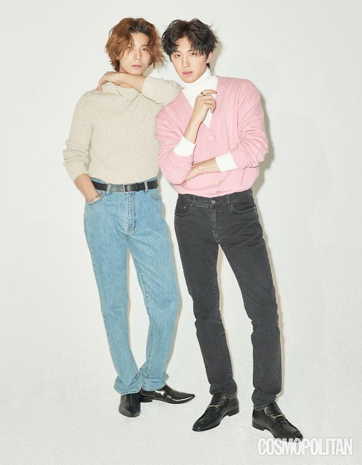 SF9 휘영-찬희, 막내들의 단짠 브로맨스 [화보]