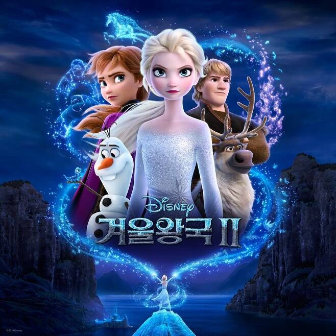 '겨울왕국2', OST 인기도 韓 가장 뜨겁다
