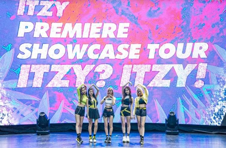 ITZY, 첫 해외 쇼케이스 투어 '타이베이 공연' 성료