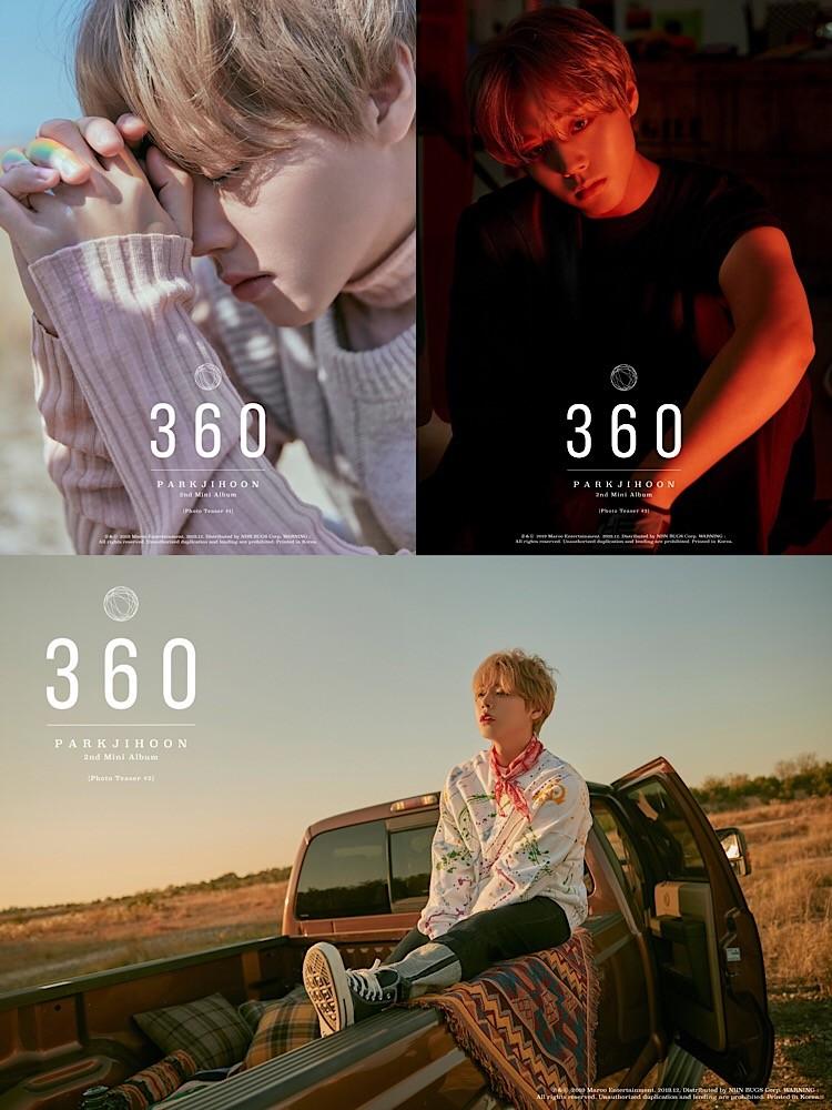 박지훈, 신보 '360'으로 아이튠즈 앨범차트 7개국 1위