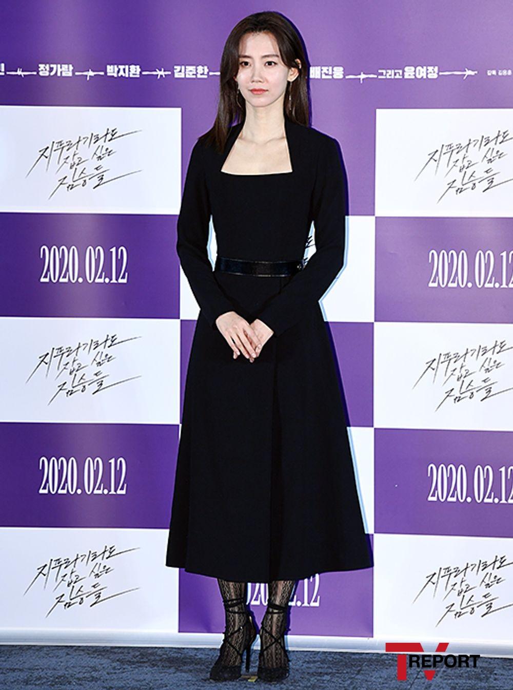 [T포토] 신현빈 '우아한 블랙 여신'