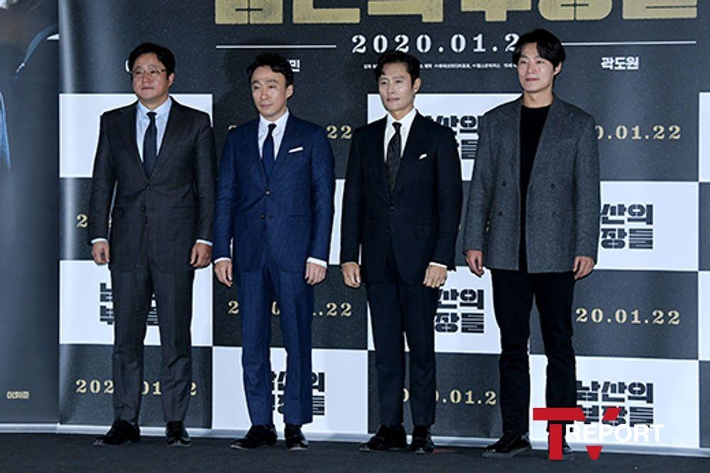 [T포토] 남산의 부장들 '명품 배우들이 한 자리에'