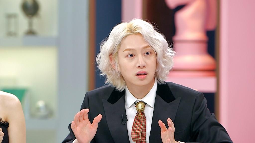 '모모♥' 김희철, '77억의 사랑' 국제 연애 질문에 진땀 '뻘뻘'[TV@픽]