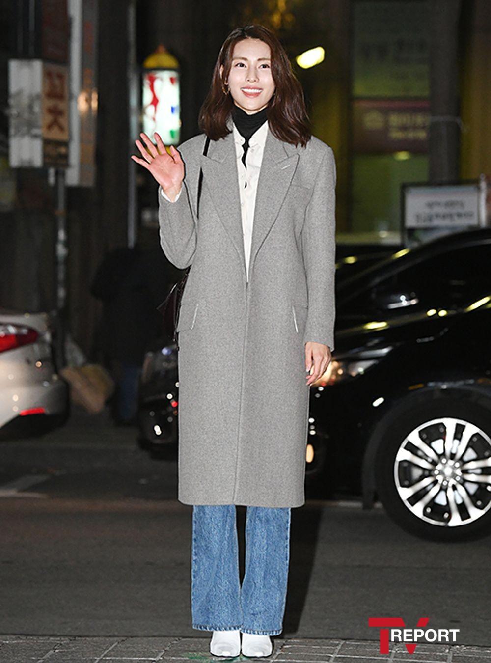 [T포토] 김정화 '예쁨 한가득'