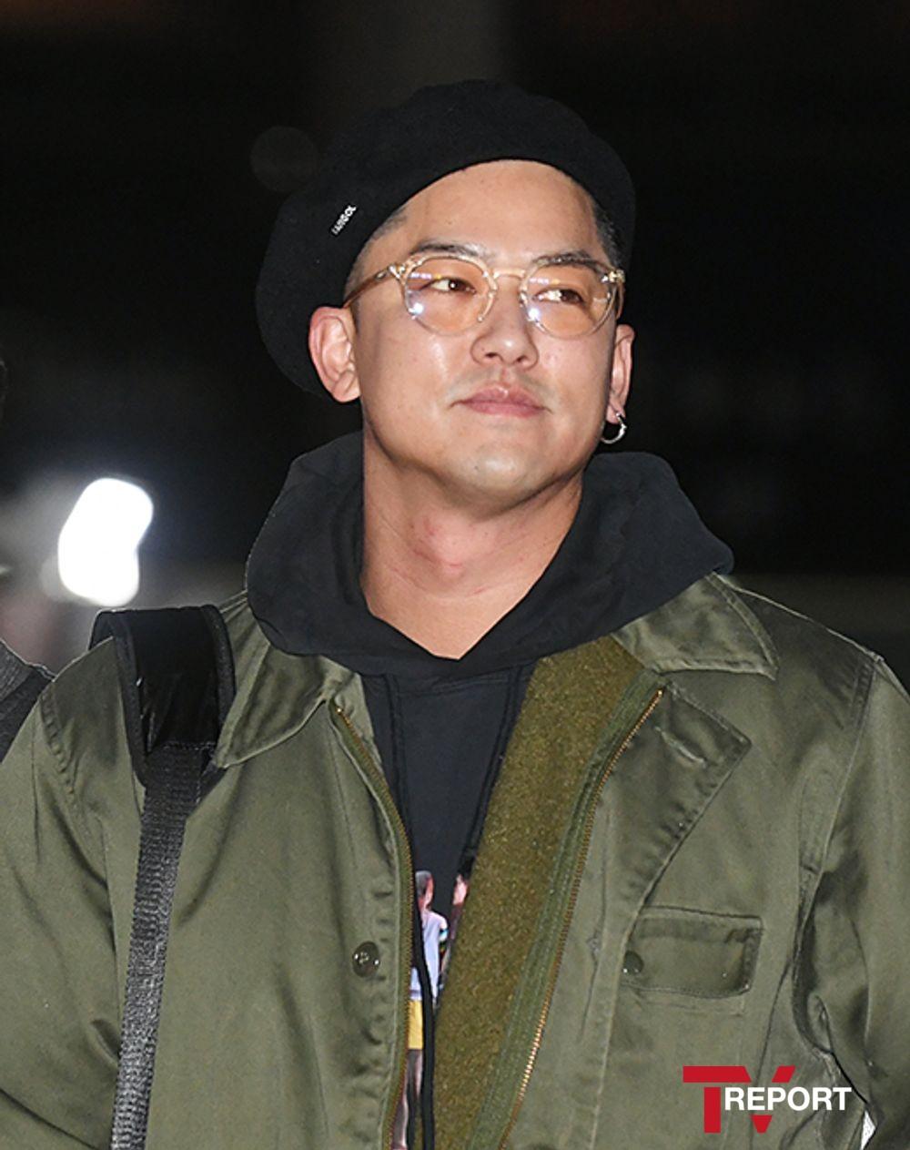 [T포토] 이용우 '패션왕 로버트 길'