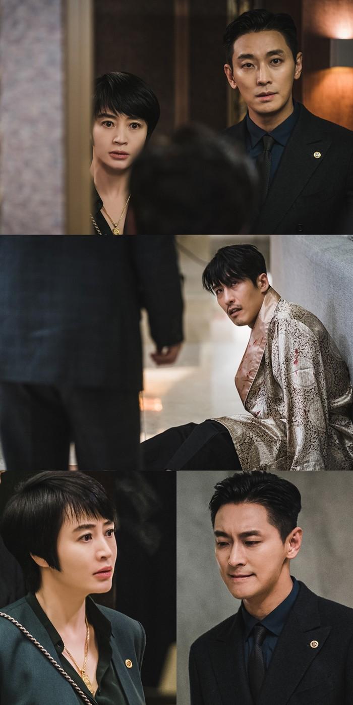 '하이에나' 김혜수X주지훈, 인연의 시작 지현준과 재회 '큰 파장 예고'