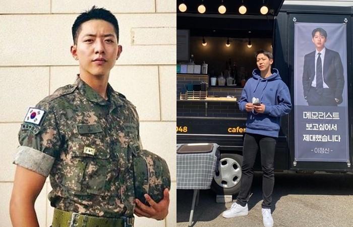 """[단독] 이정신, '메모리스트' 촬영장 깜짝 방문...""""애정+응원"""""""
