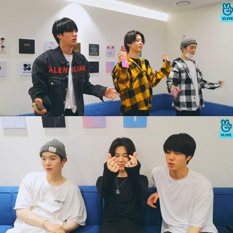 방탄소년단 지민·슈가·진, 라틴곡 댄스에...라틴아메리카 '들썩'