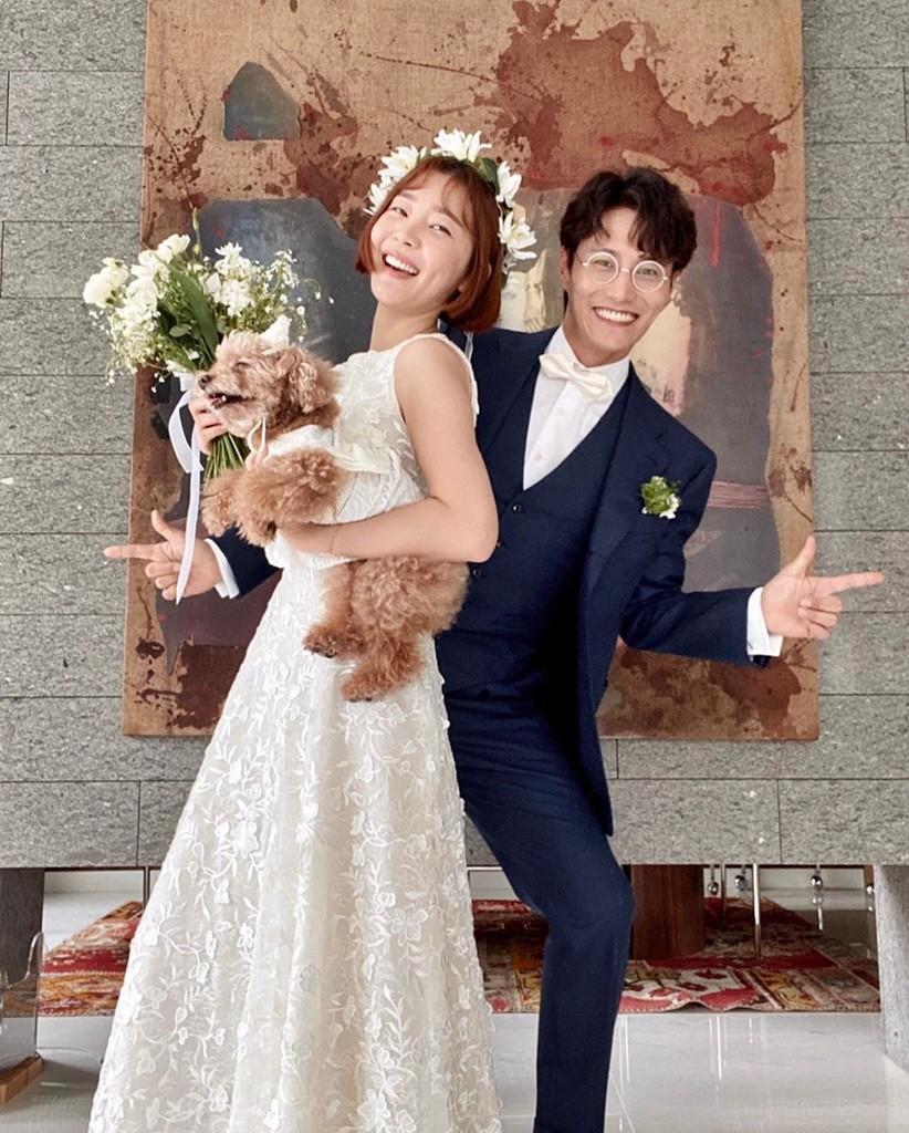 """""""매년 더 멋있어""""...신다은, '♥임성빈'과 4번째 결혼기념일 자축"""