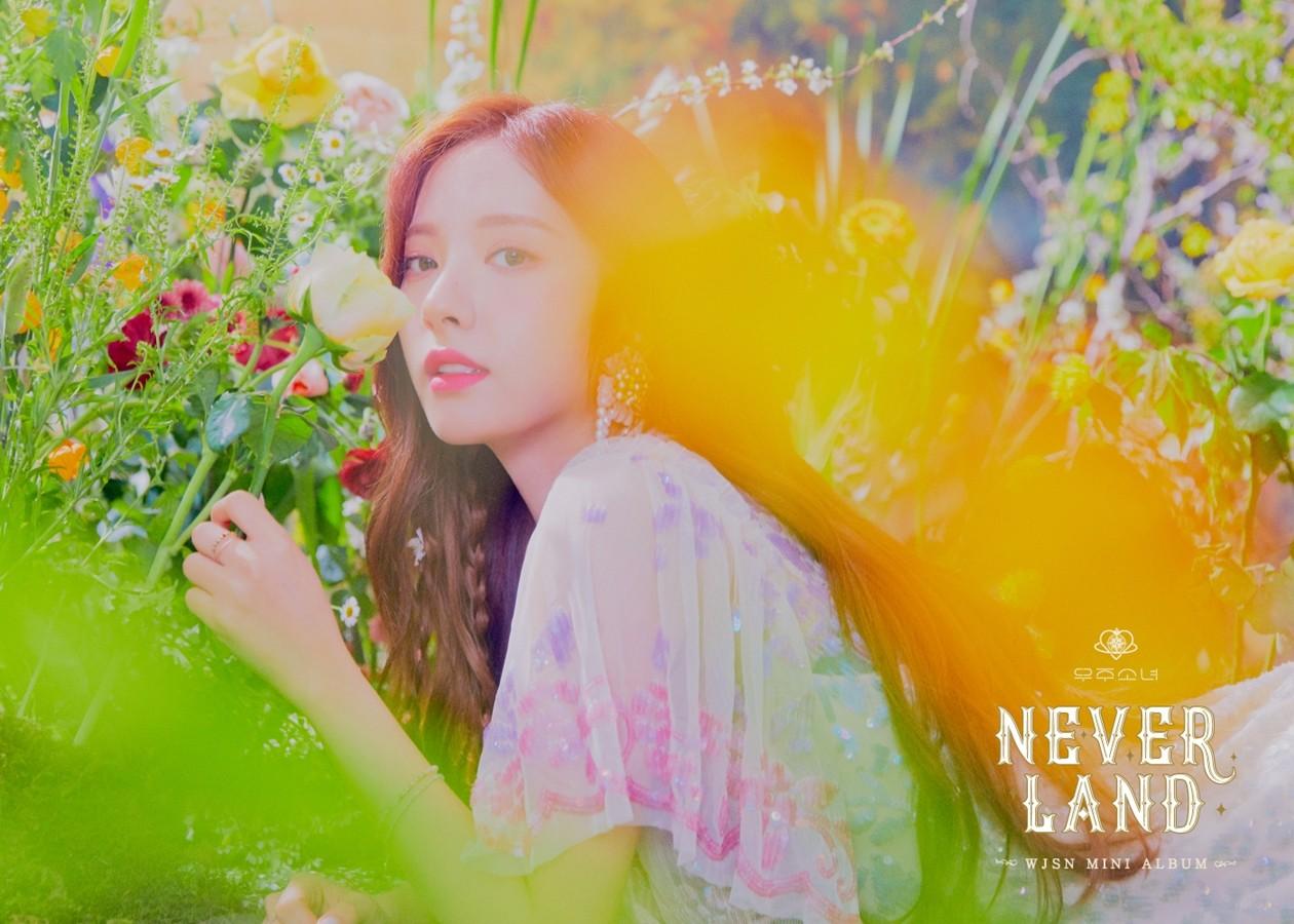 우주소녀 보나, 여신美 자랑…'네버랜드' 콘셉트 포토+무빙이미지 공개
