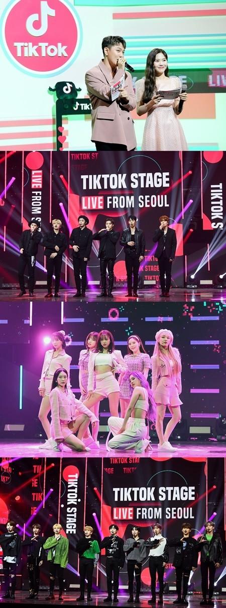 아이콘→크래비티 출연 '틱톡 스테이지', 약 125만 명 시청 속 성료