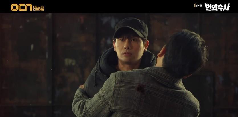 """'번외수사' 지승현, 지찬 지키려다 총상 입었다.. 차태현 """"안 돼"""" 절규[종합]"""