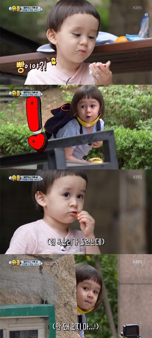 '슈돌' 벤틀리의 배달 성공, 최고 1분…'순간 시청률 14.2%'