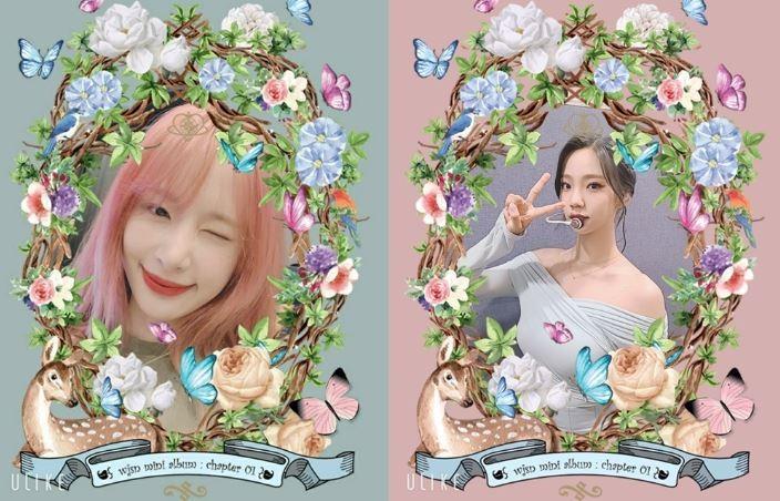 우주소녀, '버터플라이' 스티커 셀카…'과즙美 넘치는 윙크'