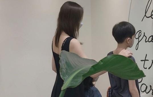 """손태영, 2주 자가 격리 끝 """"룩희X리호 고마워"""""""