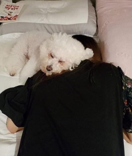 '김수미 며느리' 서효림, 출산 후 근황…'현실 공감' [리포트:컷]