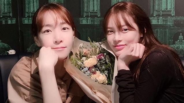 박시연, 김이나와 함께한 투샷... 미녀 옆에 또 미녀