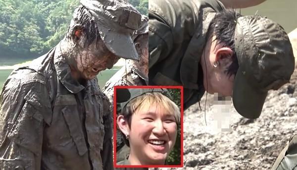 '분노한 교관+미친 훈련 강도'에 선채로 구토한 유튜버 꽈뚜룹 (영상)