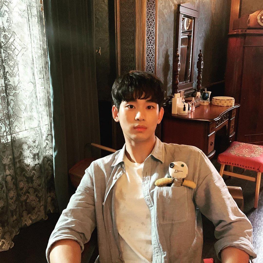 김수현, 주머니 속 망태…상태 형은 어디?
